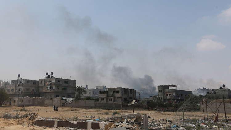 الجيش الإسرائيلي يستهدف موقعا جنوبي رفح