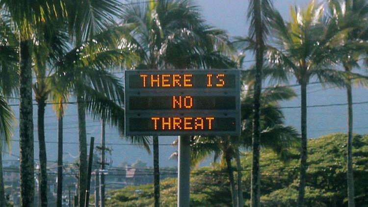حالة من الذعر والهلع في هاواي.. نجم هوليودي: استيقظت ولم يبقَ من حياتي إلا 10 دقائق