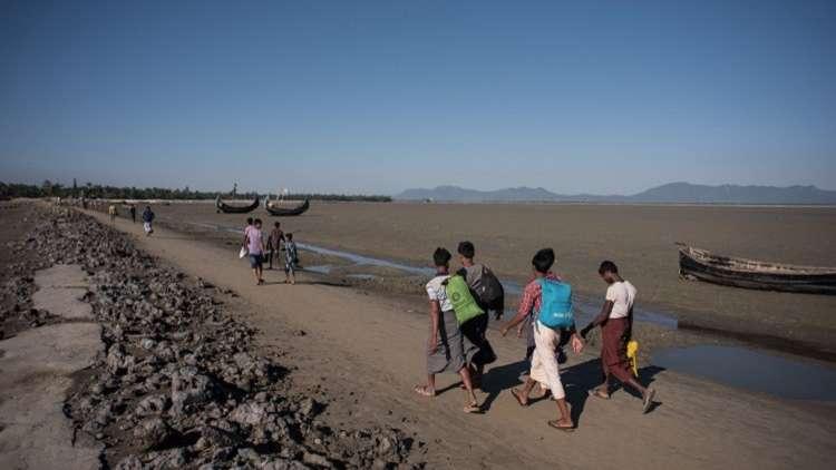 الأمم المتحدة: عودة الروهينغا إلى ميانمار يجب أن تكون طوعية