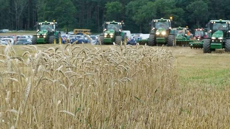 محصول الحبوب الروسي يحقق رقما قياسيا
