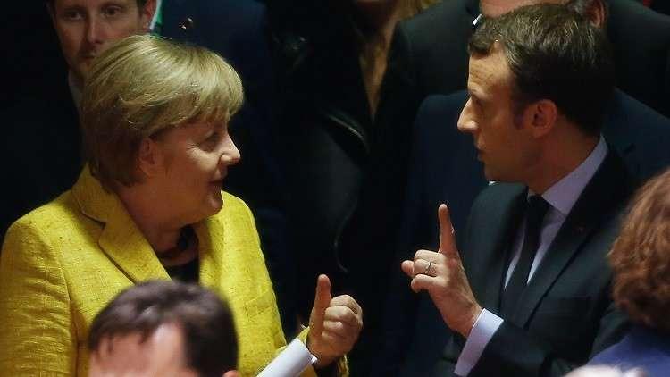 ميركل تبحث في باريس مستقبل أوروبا مع ماكرون الجمعة