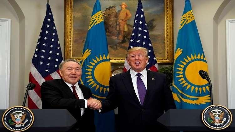 نزارباييف: العلاقات بين روسيا وأمريكا