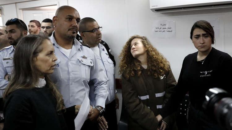 القضاء الإسرائيلي يمدد اعتقال عهد التميمي حتى 31 يناير