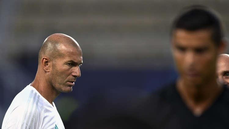 زيدان لا يتخيل ريال مدريد من دون رونالدو