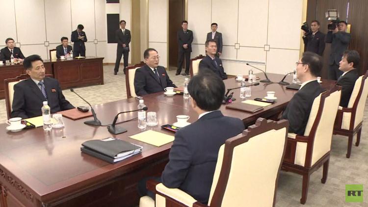 انتهاء المحادثات بين بيونغ يانغ وسيئول