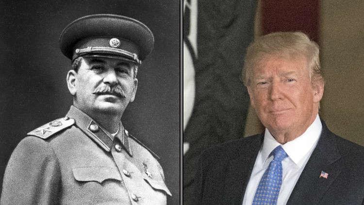 مقارنة ترامب بستالين أثارت سخرية الشيوعيين الروس