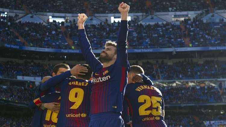برشلونة يربط بيكيه بنصف مليار يورو!