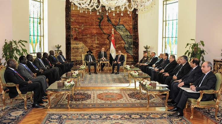 جنوب السودان يكثف التعاون العسكري مع مصر