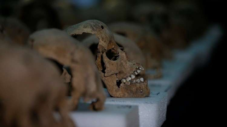 العثور على 33 جمجمة بشرية غربي المكسيك