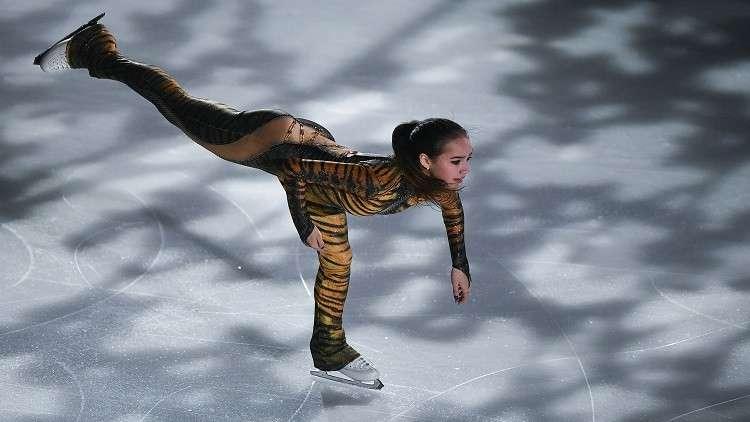 الروسية زاغيتوفا تتصدر بطولة أوروبا للتزحلق الفني على الجليد