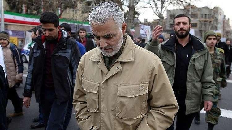 سليماني: ليتهم حرقوني 10 مرات بدل العلم الإيراني!