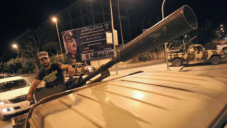 الجيش الليبي يطلق