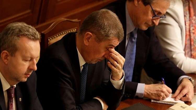 رفع الحصانة عن رئيس الحكومة التشيكية