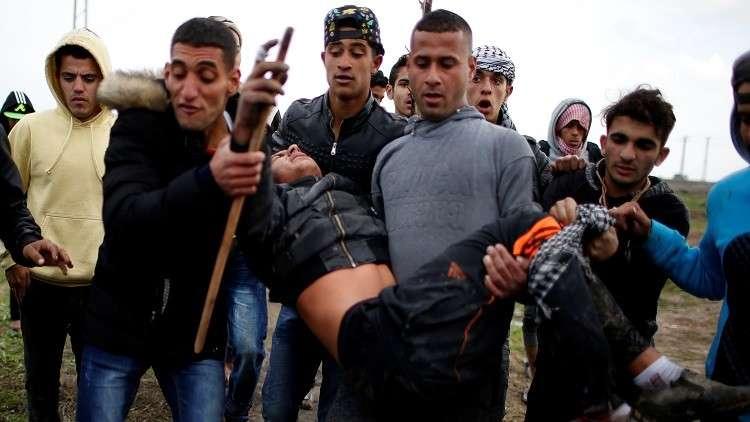 إصابة 8 فلسطينيين برصاص الجيش الإسرائيلي