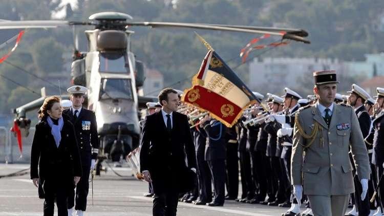 ماكرون يكشف عن زيادة جديدة في ميزانية الدفاع الفرنسية