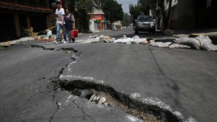 المكسيك.. زلزال بقوة 6.6 درجة يضرب ولاية باها كاليفورنيا