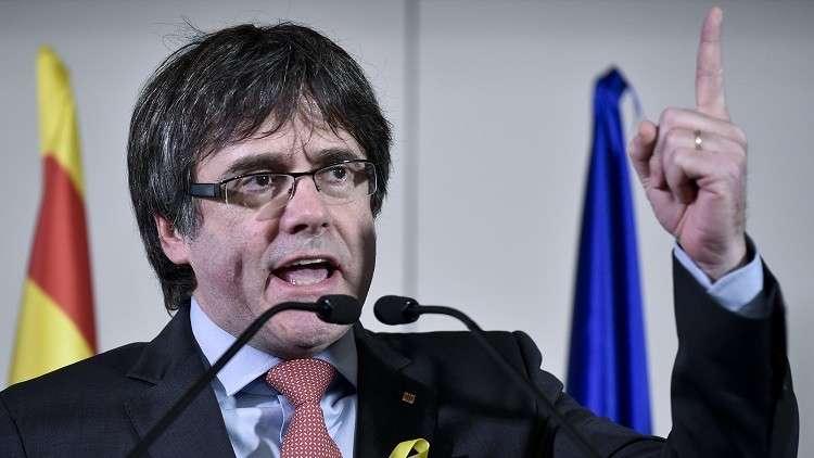 بوتشيمون: بإمكاني إدارة كتالونيا من الخارج