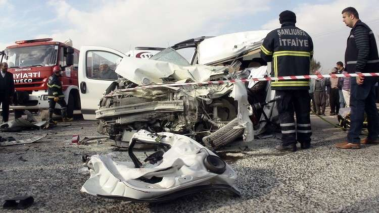 مصرع 11 شخصا في حادث مرور في تركيا