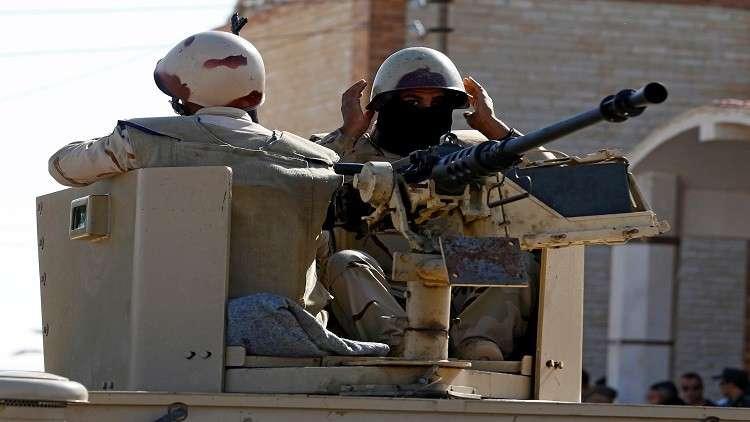 مصر.. مقتل إرهابي وتدمير عربتين وسط سيناء