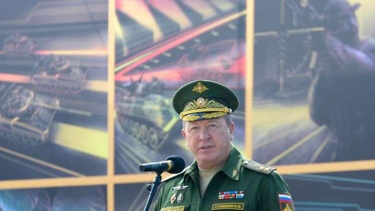 جنرال روسي: الإرهابيون في سوريا يستخدمون متفجرات محلية الصنع