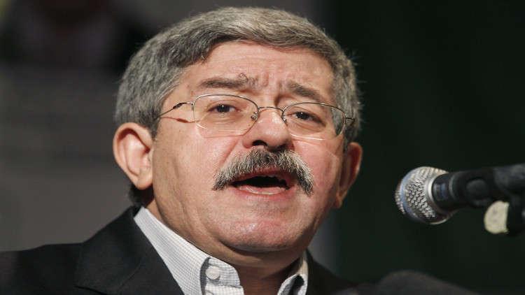 أويحيى: أخرجت الجزائريين من الوهم ولن أترشح ضد بوتفليقة