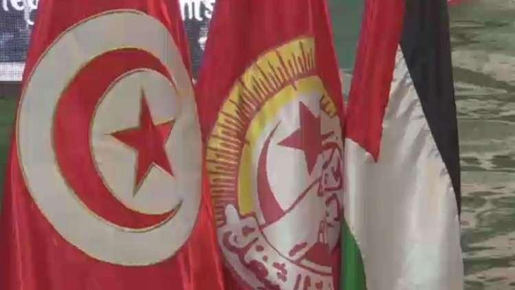 حراك اتحاد التونسي للشغل الداعم لفلسطين
