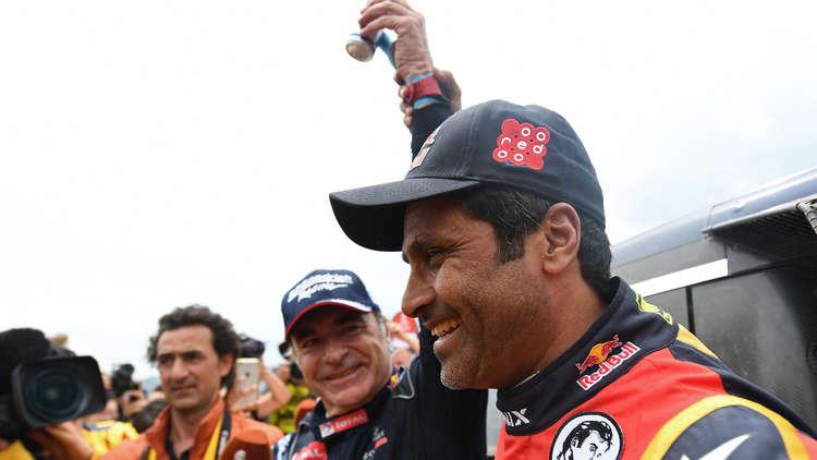 الإسباني ساينز يحرز لقب رالي دكار على حساب العطية
