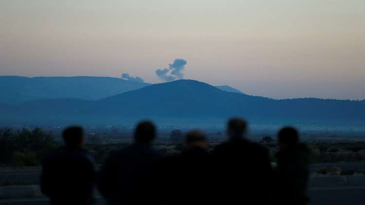 المقاتلات التركية تقصف الوحدات الكردية في عفرين شمالي سوريا