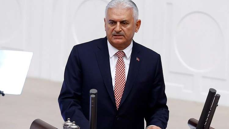 رئيس الوزراء التركي: الجيش سينفذ مهامه في سوريا غدا وفقا لتطورات الوضع