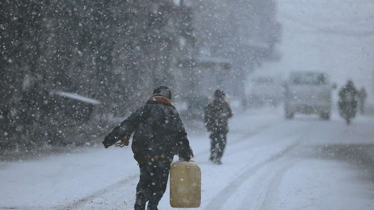 لبنان.. ارتفاع حصيلة القتلى بين اللاجئين السوريين بسبب العاصفة الثلجية إلى 13