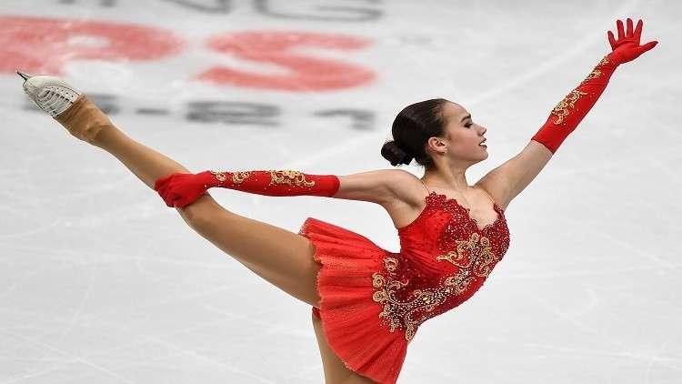 الروسية زاغيتوفا ملكة لأوروبا في التزحلق الفني على الجليد