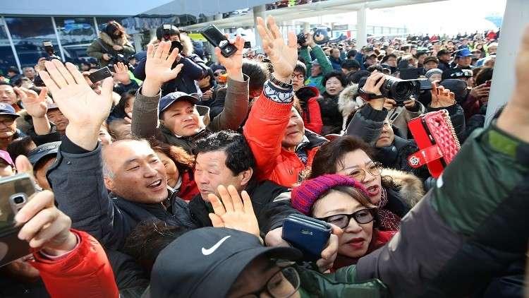 وفد كوري شمالي يصل إلى الجنوب لتفقد مواقع العروض الفنية في أولمبياد 2018