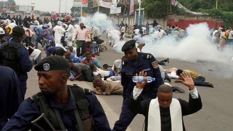الكونغو.. الشرطة تقتل 6 متظاهرين في احتجاجات ضد كابيلا