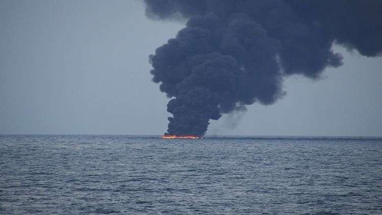 توسع مساحة البقعة النفطية أمام سواحل الصين 3 أضعاف