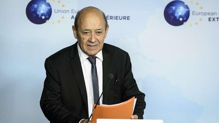 فرنسا تدعو إلى بحث اتفاقية شراكة بين بروكسل وفلسطين