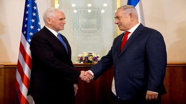 بينس لنتنياهو: أتشرف بوجودي في القدس عاصمة إسرائيل