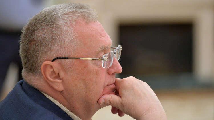 أول قرار سيصدره جيرينوفسكي إذا هزم بوتين في الانتخابات