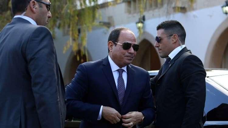 السيسي يستقبل رئيس جهاز الاستخبارات الفرنسية