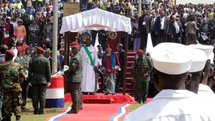 حضور عربي لمراسم تنصيب جورج ويا رئيسا لليبيريا