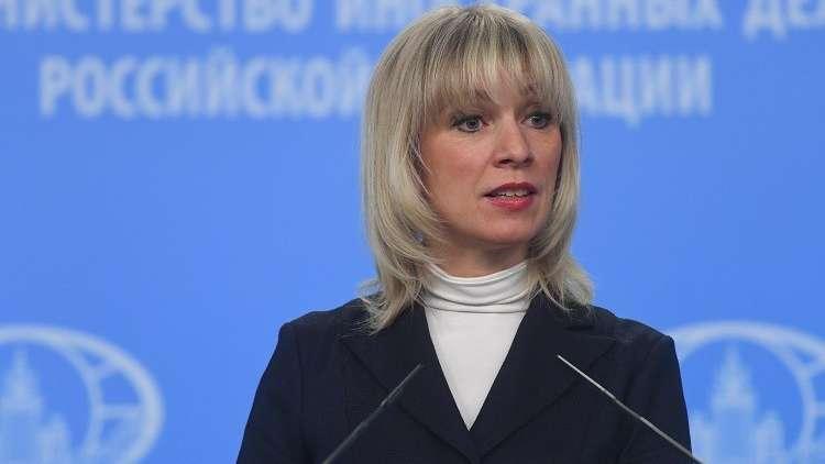 زاخاروفا: بوروشينكو سمّى الأمور بمسمياتها من حيث لا يدري