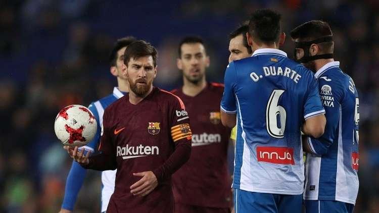برشلونة يواجه خطر الخروج من مسابقة كأس إسبانيا