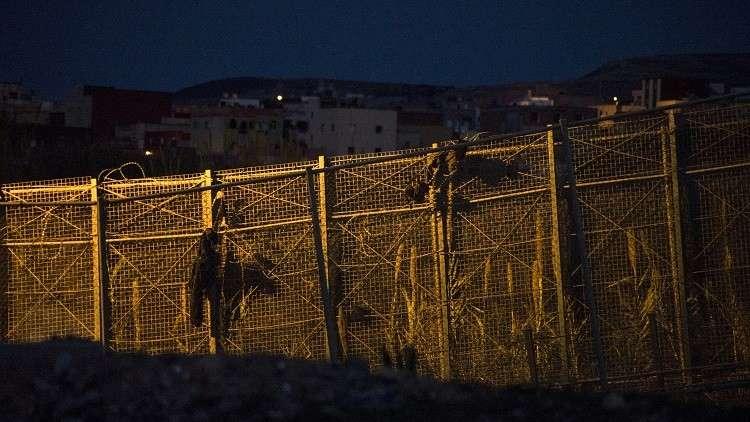 مصرع رجل في تدافع عند الحدود المغربية الإسبانية