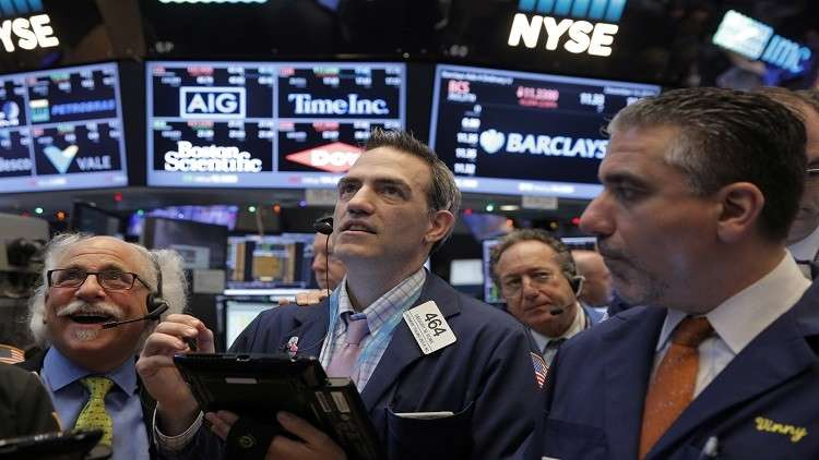 بورصة وول ستريت تغلق عند مستويات قياسية