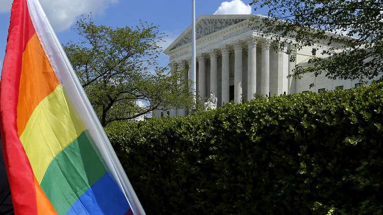 أول زواج رسمي لجنديين مثليين في الجيش الأمريكي