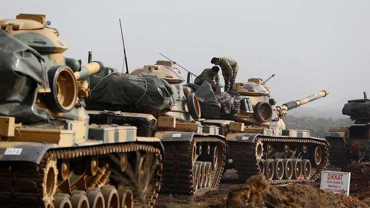 أردوغان وماكرون يبحثان العملية التركية في عفرين السورية