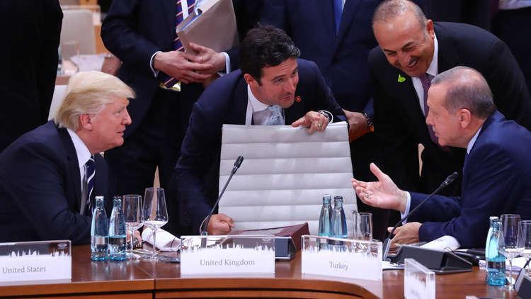 مسؤول أمريكي: ترامب سيتحدث قريبا مع أردوغان بشأن عفرين