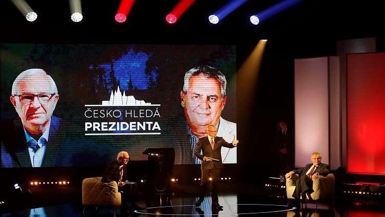 الرئيس التشيكي ينفي مزاعم تدخل روسيا في انتخابات بلاده