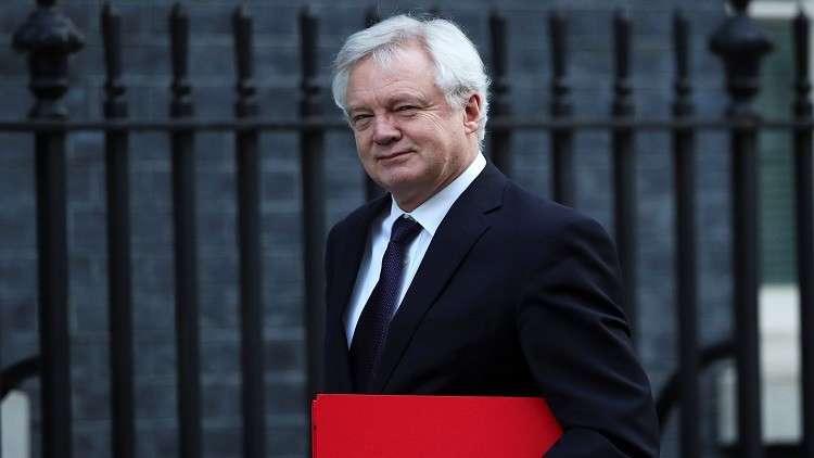 وزير شؤون الانسحاب من الاتحاد الأوروبي ديفيد ديفيز