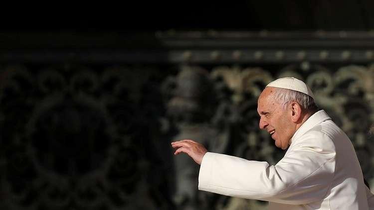 بابا الفاتيكان يدعو لإنهاء العنف في الكونغو