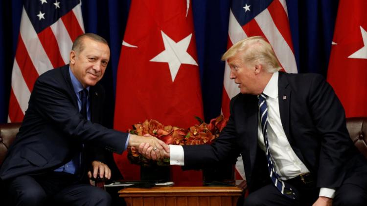 ترامب يحث أردوغان على خفض التصعيد في عفرين